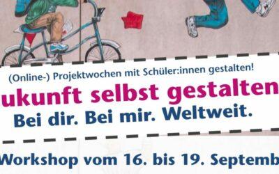 Multi-Weiterbildung: Zukunft selbst gestalten | (Online-)Projektwochen mit Schüler:innen umsetzen!